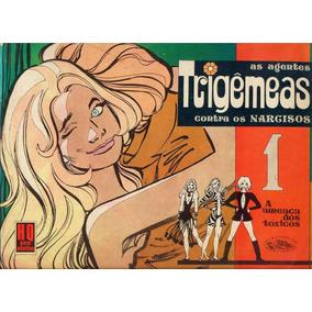 As Agentes Trigêmeas Contra Os Narcisos - N.°1 - 1976