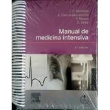 Libro ( Montejo ) Manual De Medicina Intensiva.