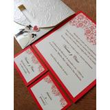 Invitaciones Para Eventos Matrimonio Quinceaños Bautizo Etc
