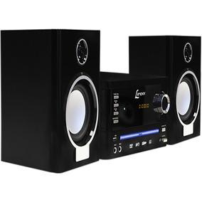 Micro System Lenoxx Md270 25w Rms Dvd Player Karaokê Mp3 Usb