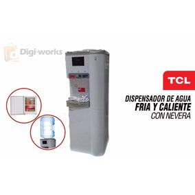 Dispensador De Agua Fria Y Caliente Tlc Con Nevera
