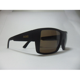 Culos Evoke The Code Black Matte Gold Brown Total De Sol - Óculos no ... 26b7a90869