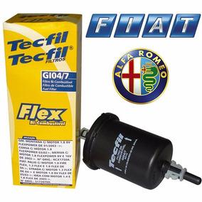 Filtro Combustível Brava Fiat Strada Marea Palio Stilo Uno