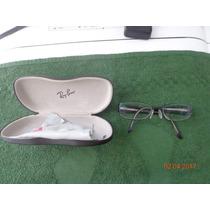 Oculos Armação Rayban Preto Feminino E Masculino