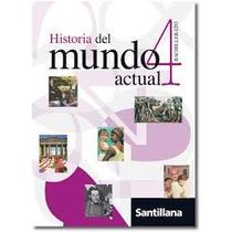 Historia Del Mundo Actual 4 Santillana Oferta