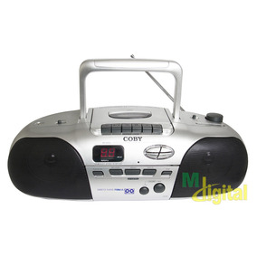 Radio Gravador De Fita Com Cd Player Coby Cx-cd255 - Novo!!!