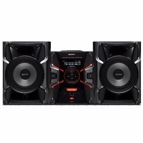 Mini System Sony Genezi Mhc-gpx7 Mp3 Duplo Usb 1100rms 600w