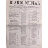 Guerra Del Pacifico Diario Oficial Salitre Febrero 1879