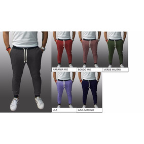 Promo Pack X3 Pantalones Chupin Slim Fit Joggings Entallados