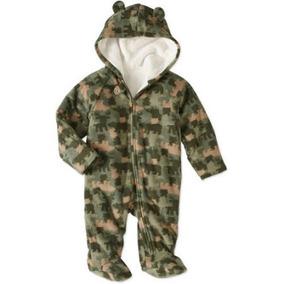 Mameluco Americano Pijama Camuflaje Talla 0/3 Y 3/6 Meses