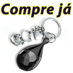 Mini Gravadores De Voz Objetos Espiao Gravadora Chaveiro