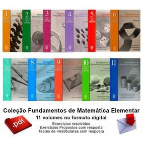 Coleção Fundamentos Da Matemática Elementar - Gelson Iezzi