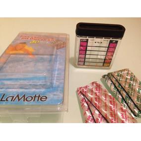 Kit Para Medir Cloro Libre Y Ph Marca La Motte Tabletas