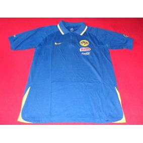 America Camisa Polo Azul Total 90 Futbol Liga Mx