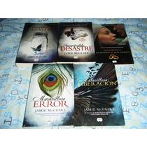 5 Libros Saga Maravilloso Desastre Inevitable Jamie Mcguire