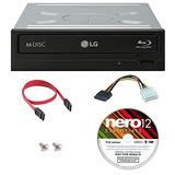 Lg 14x Wh14ns40 Paquete Para Grabador Blu-ray Interno Con N