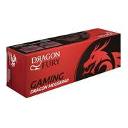 Mouse Pad Gamer Red Dragon Fury Extra Grande Xxxl 90x28cm