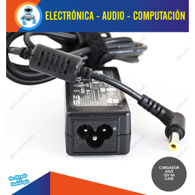 Cargador Laptop Asus 12v 3a Punta Amarilla