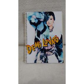 Caderno Demi Lovato 15 Materias Com ¿300 Fls