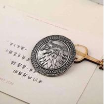 Juego De Tronos - Pin/boton Casa Stark - Game Of Thrones