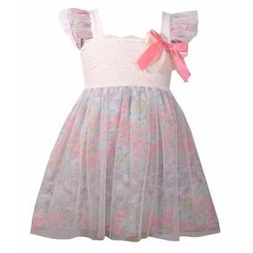 Vestidos De Fiesta Niñas Elegantes Paje Talla 1 Y 2