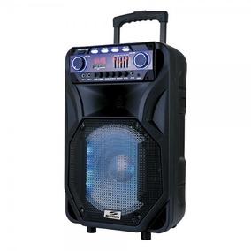 Caixa De Som Amplificada 2000w Bateria Mic Sem Fio Bluetooth