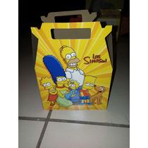 Cajita Feliz Los Simpsons Coleccion Del Sillon