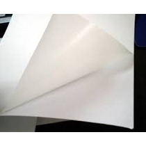 Papel Adhesivo Doble Carta Tabloide Sticker Mate Satin Cuche