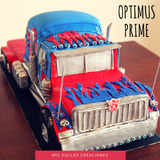 Tortas Decoradas Cumpleaños - Transformers - Optimus Prime