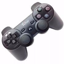 2controle Joystick Wireless Sem Fio - Ps3 1cabo 2 Capa