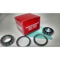 Kit Caixa Direção Orig. Honda Nxr 150 Bros / Xre 300 / Nx 4