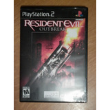 Resident Evil Outbreak Para El Play Station 2