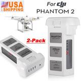 2pcs Para El Dji Phantom 2 Vision + Plus Batería 5200mah