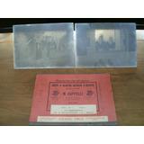 Antiguas Placas Fotográficas, Negativos En Vidrio Año 1906