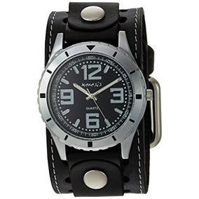 Nemesis Reloj Para Hombre Sth096k Negro De Acero Inoxidable