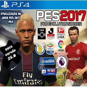 Patch (atualização) Pes 2017 Ps4 Brasileirão Temporada 2017
