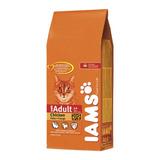 Iams Gato Adulto X 15kg + Absorsol + Pipeta+ Envío S/c Ver
