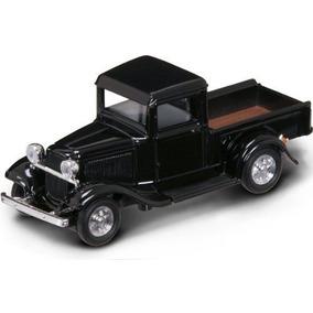1934 Ford Pickup 143 Escala Negro Por Carretera Firma