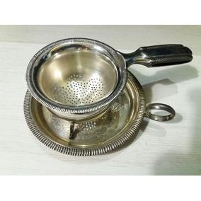 Coador Cha Cafe Leite Prata 90