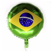 Balão Metalizado Bandeira Brasil