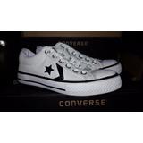 Zapatillas Converse Lona Star Player Unisex Ultimos Talles