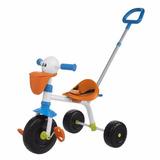 Triciclo Bike Infantil Pelicano Chicco C/ Haste Removível