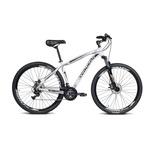 Bicicleta Alumínio Aro 29 Challenge Branco Com 21 Marchas