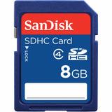 Memoria Sd Hc 8gb Sandisk Para Camara