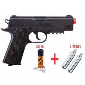 Pistola Airsoft Bbs Crosman1911 Co2 480pps ¡envío Gratis!