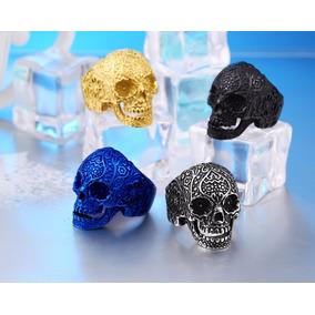 Anillo Sugar Skull Calavera Cráneo Acero Inoxidable