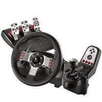Volante G27 Racing Wheel Logitech Com Pedal E Câmbio Pc/ps3