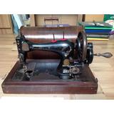Máquina De Costura Antiga Singer 1896 Manual Antiguidade