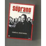 Família Soprano - 2ª Temporada - 4 Dvds Box Lacrado