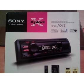 Radio Reproductor Para Carro Marca Sony Xplod Modelo Dsx-a30